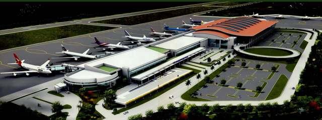 Singapore te'n Kawlgam ah International Airport lamding