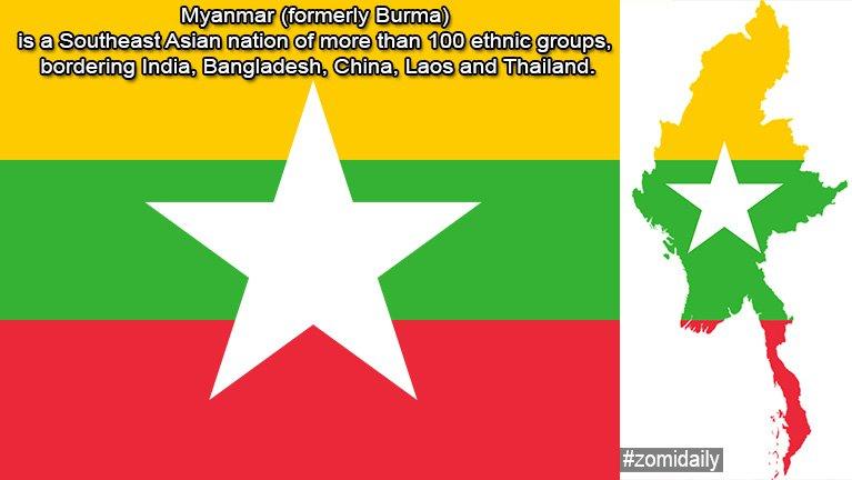 Myanmar gamsung biakna dinmun tena ah Buddhist te kiamsuk lamah khangto