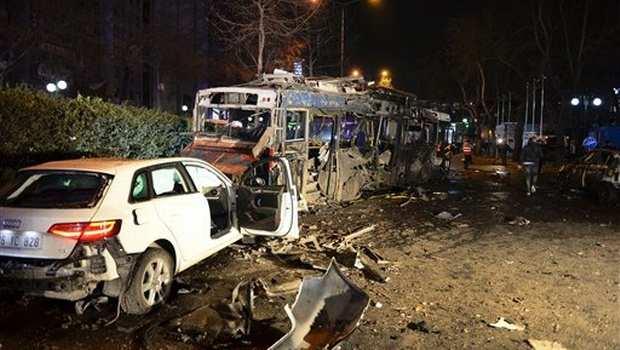 Turkey khuasung ah Suicide Car Bomb hangin mi 34 si