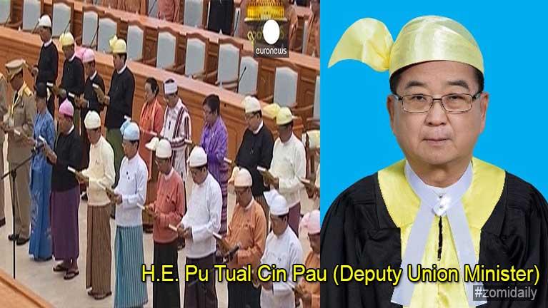 Zomite hong lamsang Pu Tual Cin Pau (Constitutional Tribunal Member)
