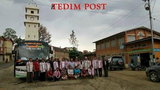 Tedim – Yangon Direct Zotaang Bus Express honpawi
