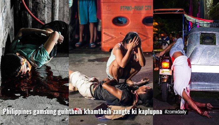 Philippines ah Rodrigo Duterte in President asepzawh mi 2000 val ki thatkhin