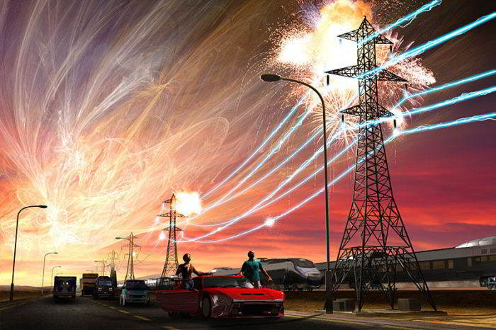 Solar Storm hangin Technology Blackout piangthei dinghi kici ~ Thang Khan Lian