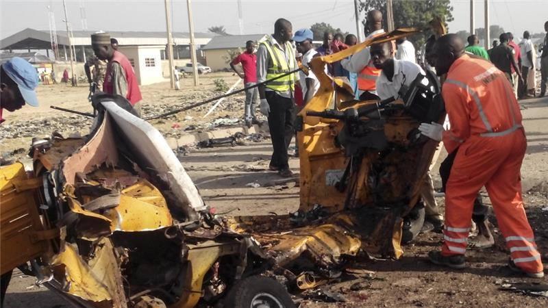 Nigeria ah Suicide Bomb nih puak, mi 9 si ~ Thang Khan Lian