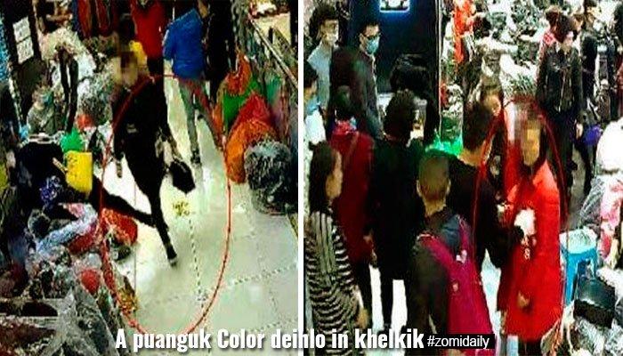 China: Numei khat a puanguk Color deihlo in akhelkik sawmleh kiman ~ ZD