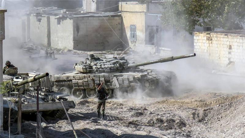 Syria galkapte leh apawl te'n Aleppo 85% lata ~ TK Lian