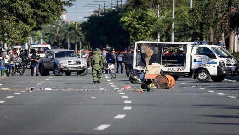 Philippines aom US Embassy mai ah Bomb khat kimu in ki puakkhamsak ~ ZD