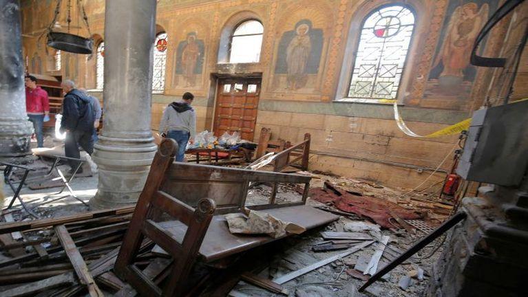 Egypt gamsung aom Cathedral biakinnpi khatah Bomb puakkham, mi 25 si, 47 liam ~ ZD