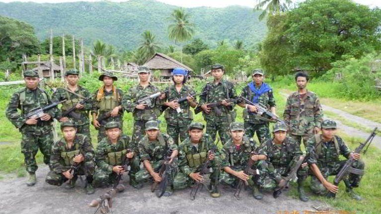 Zogam sung pan Arakan Army te apai khiatkei uhleh Galvai tawh kipat kulding ci-in CNF in gen ~ CS Mung