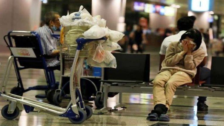 Singapore Changi Airport sungah numei khat kum 8 sung teengcip ~ ZD