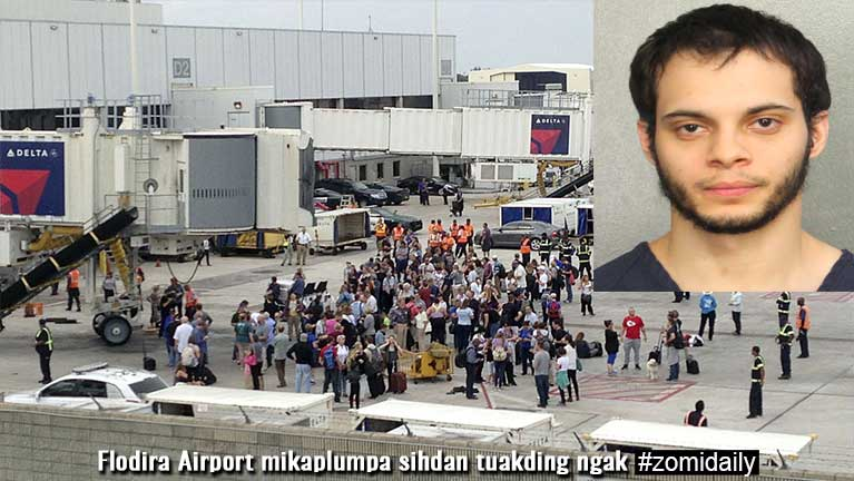 Flodira Airport mikaplumpa sihdan tuakding ngak ~ TK Lian