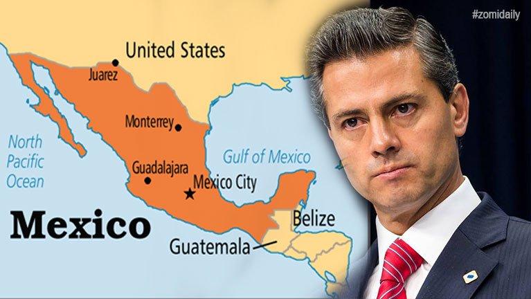 Mexico President in US azinding khawlsan ~ TK Lian