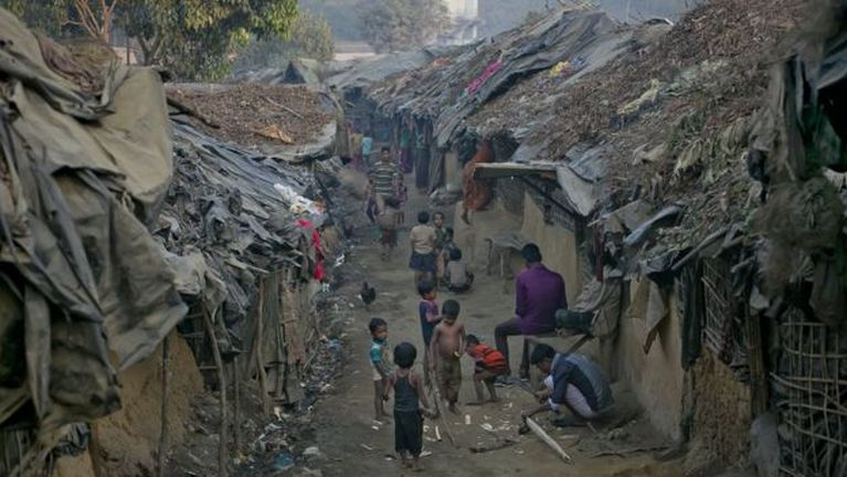Bangladesh gamsung aom Rohingya Refugee te aomna uh kituahsak ~ ZD