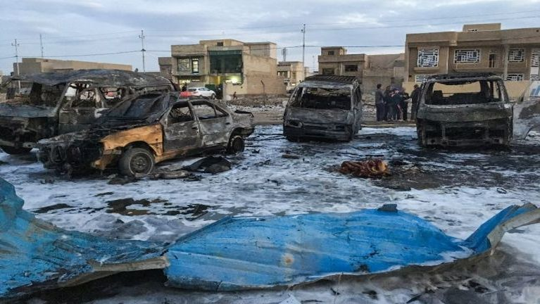 Iraq, Baghdad City ah Car Bomb puakkham in mi 52 si, 50 val liamgawp ~ ZD