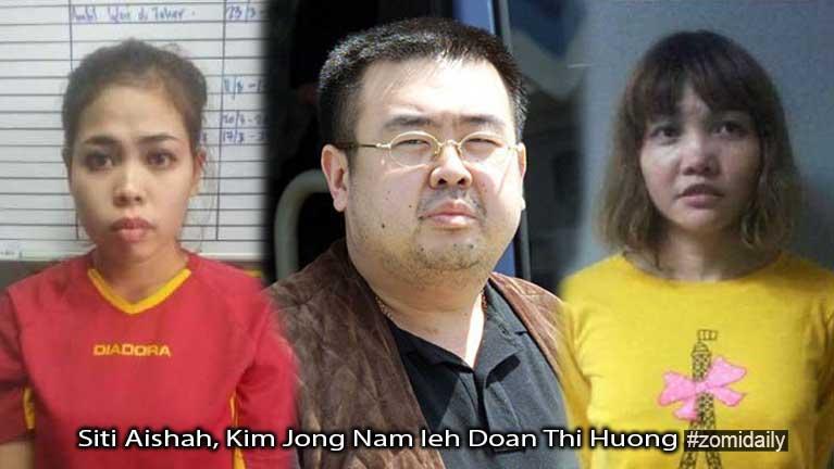 Kim Jong-nam athat numei 2 te Kajang thongah thusitna kineiding