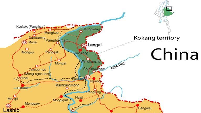 Kawlgam Shan State sung aom Laukkai khuasung ah kikapna piang ~ ZD