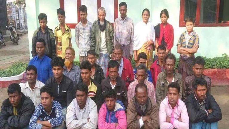 Myanmar, Rakhine State sungah gamdangmi 28 gunkuang tawh kiman ~ ZD