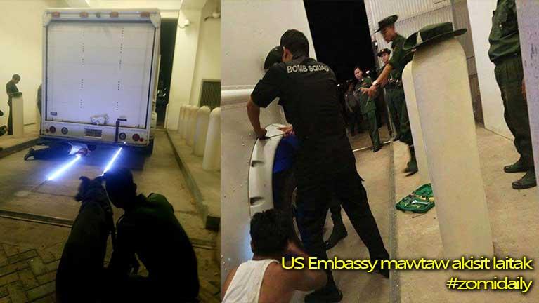 Yangon US Embassy te mawtaw pan Bomb Alarm ging ahih manin ki patau ~ ZD