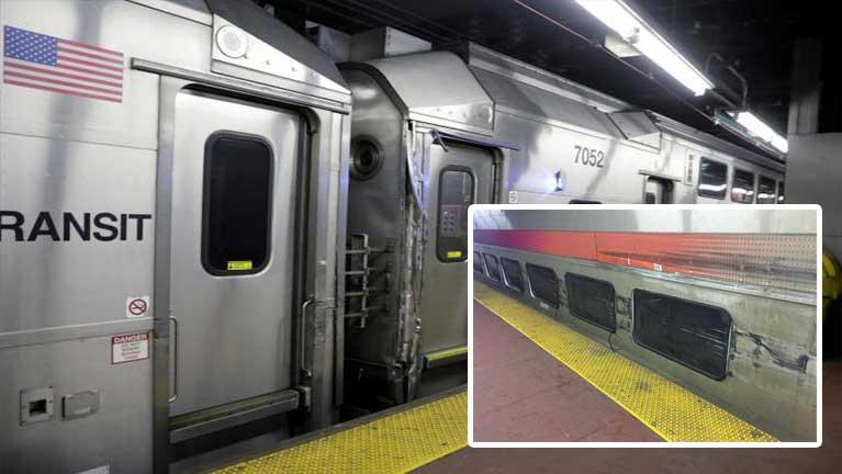US ah Amtrak meilengkhat New York Penn Station ah tuahsia ~ ZD