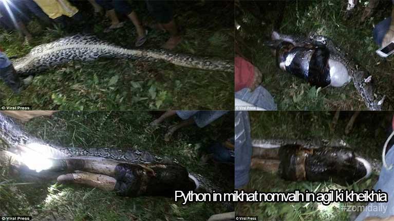 Indonesia ah Python gulpi khatin mikhat nomvalh ahih manin, agil ki kheikhia ~ ZD