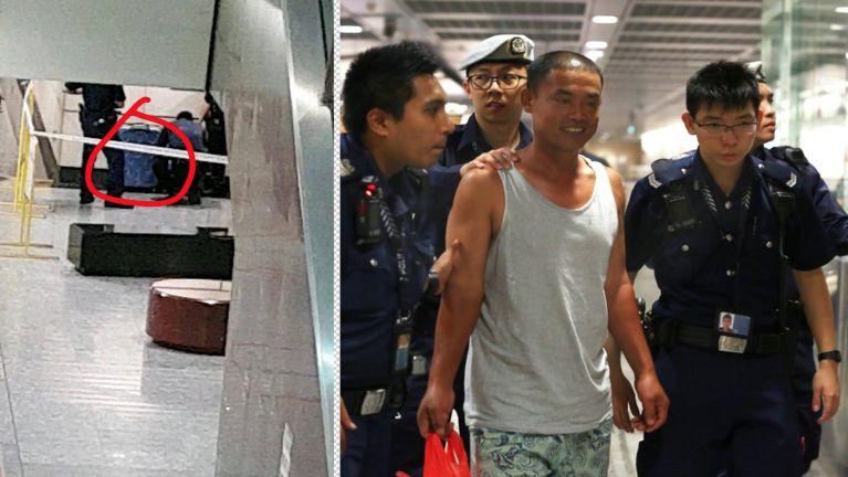 Singapore meileng khawlna ah mipi lauthawng nadingin Bag anusiapa kimankhin ~ ZD