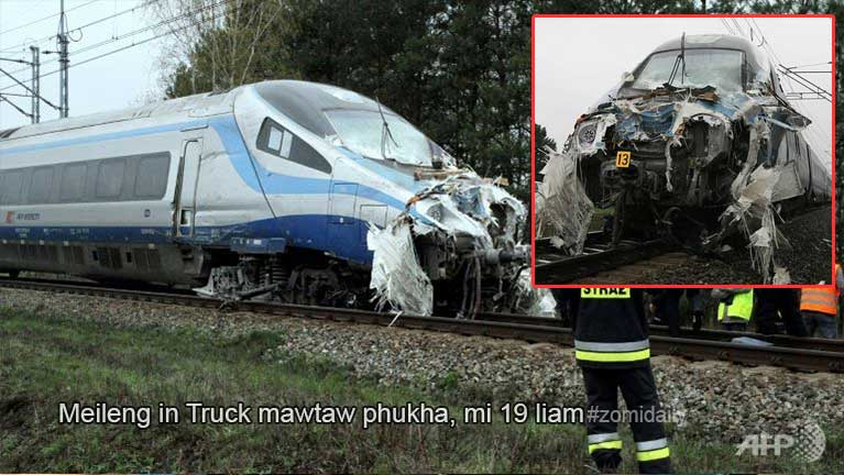 Poland gamah meileng khatin Truck mawtawpi phukha, mi 19 liam ~ ZD