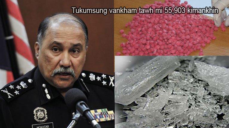 Malaysia gamsung ah tukumsung vankham tawh mi 55,903 kimankhin ~ ZD