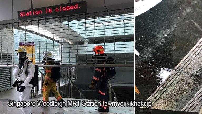 Singapore meileng Station sungah muanmawhhuai van kimu ahih manin kikhakcip