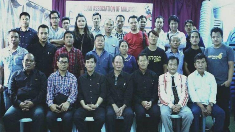 Malaysia ah Zomi te hongki thahna vaitawh kisai khuamakai, Pawlpi siate Meeting kinei