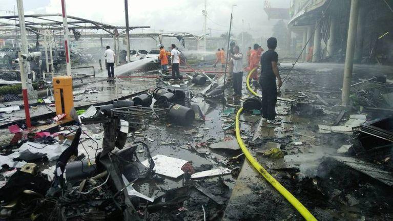 Thailand gamsung Pattani khuasung ah Bomb nihvei puakkham in mi 51 liam