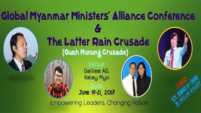 Kawlpi Crusade Poster: June 19 – 21, 2017