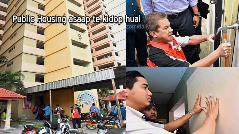 Malaysia aom gamdang mite'n Public Housing innte asaapleh ki hawlkhiading