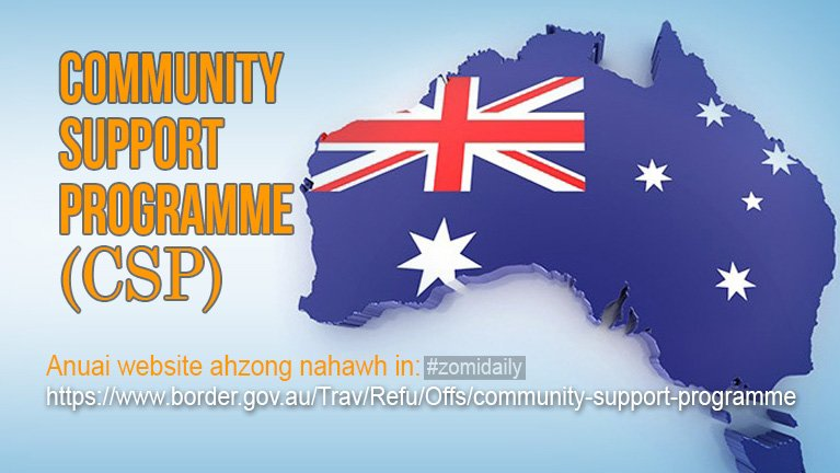 Australia gam paitheihna Volume 2 (Community Support Program)