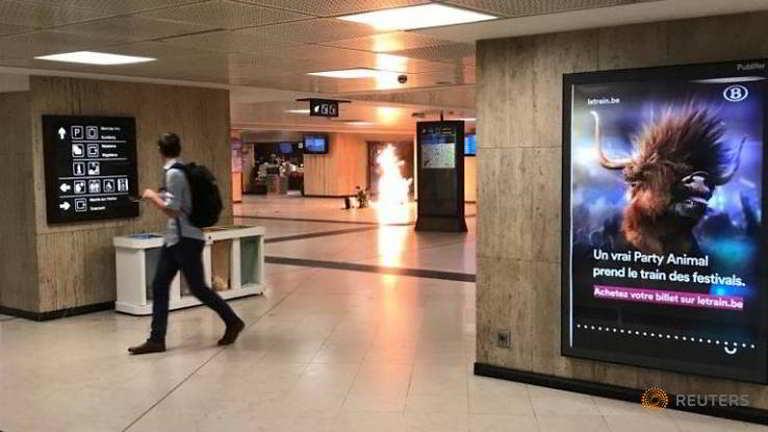 Belgium meileng Station ah Bomb puakkham in, apuakkham sakpa kikaplum