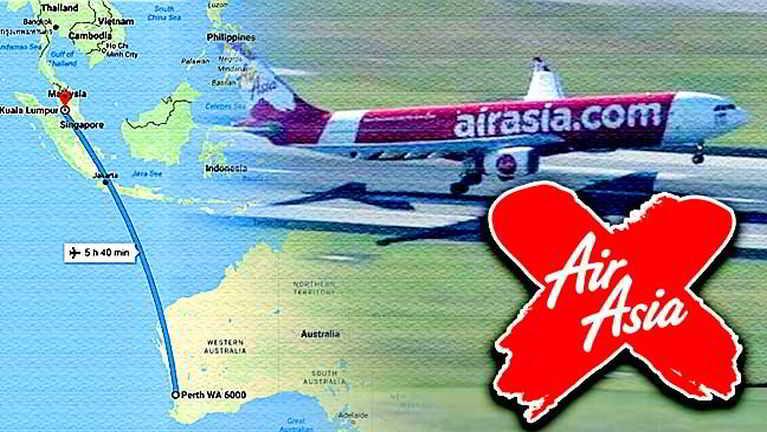 Perth – Kuala Lumpur kikal aleng AirAsia vanleng khat asetsia in ki lehkik