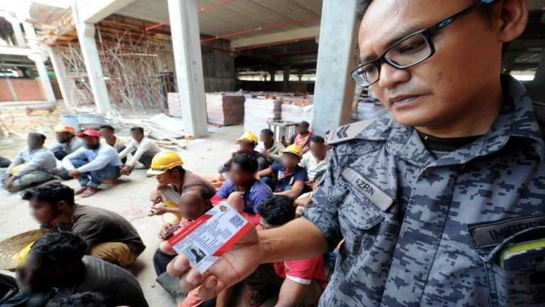 Malaysia gamsung Operasi nimasani in nasemmi 1035 kimankhin, Employer 16 zong matthuak