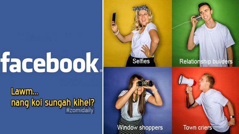 Facebook azangden mipi te Category khenpi 4 in kikhenthei, nang koisung ah kihel?