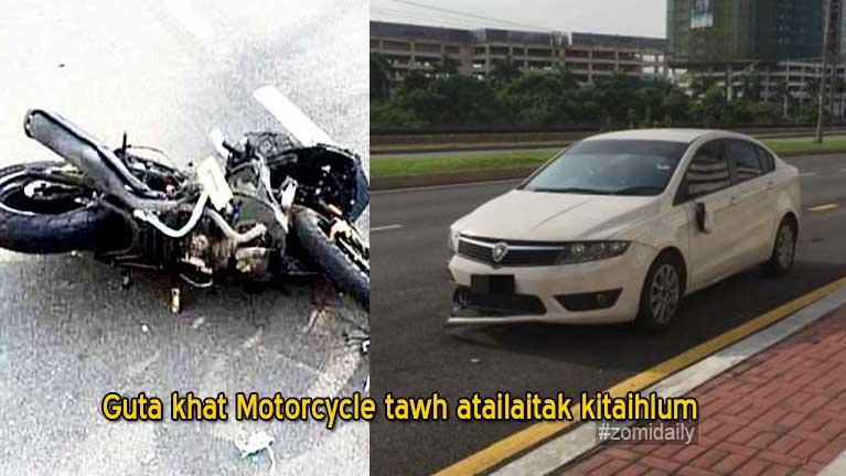 Sumbawm asuhsak khitciang Motorcycle tawh ataimang guta khat kitaihlum