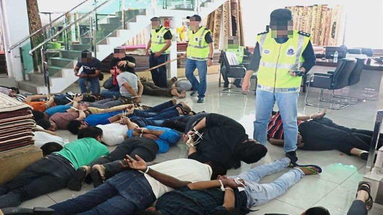 Malaysia SEA Games pawihunsung Security mi 7000 in mawhpuak lading