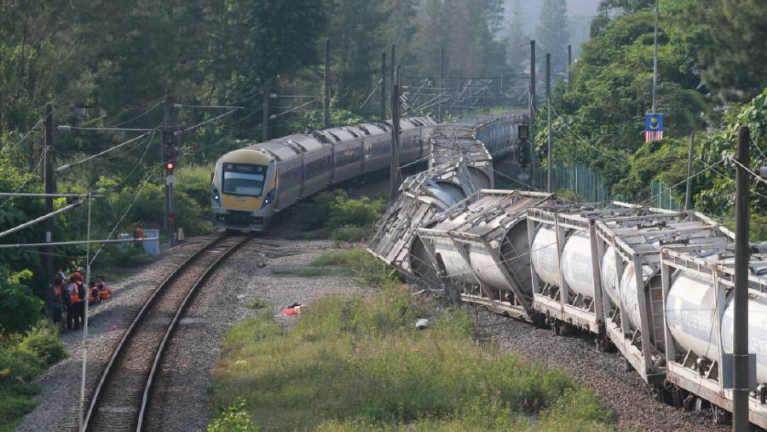 "Kuala Lumpur khuasung ah ""KTMB Cargo Train"" vanpuakna meileng khat tuahsia"