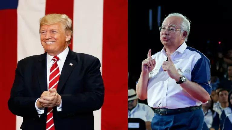 US President Trump leh Malaysia PM Najib te September khasung kimuding