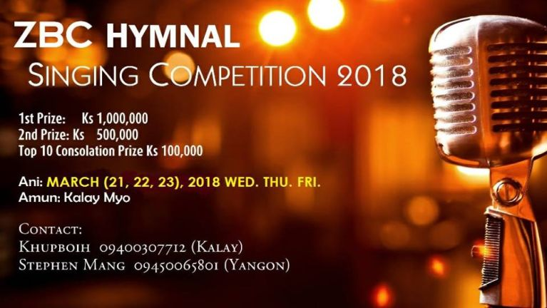 Hongnai semsem: ZBC Hymnal Singing Competition