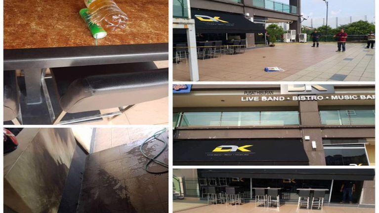 Malaysia, Kota Damansara Cafe' khatah datsithawl meikuangsa in kilot, mikhat liam