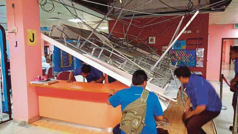 Johor aom Clinic zato khat ii Ceiling kiasuk, aliam omlo