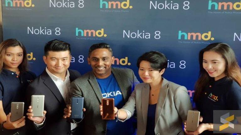 Nokia 8 Smartphone te Malaysia gamsung tungta, RM2299