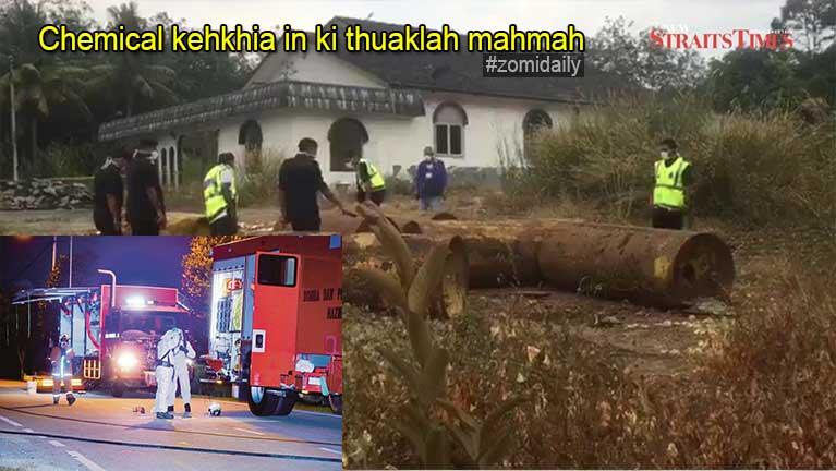 Malaysia, Malacca ah Chemical kehkhia ahih manin, adikkha mi 50 zato tunlawh