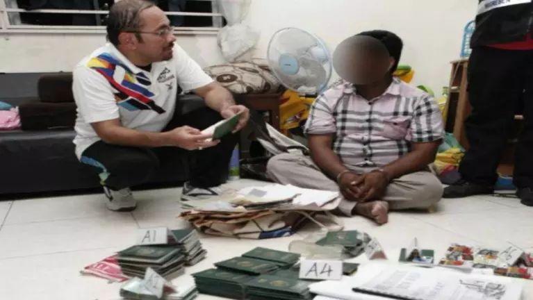 Malaysia, Penang ah Passport atuh abawlkhia Agent khat kiman