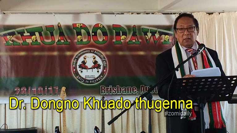 Australia, Brisbane khuapi ah Zomi Khuado bawlna ~ Dr. Dongno