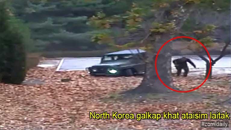 North Korea galkapkhat ataisim laitak thautawh kikap, Video ki khahkhia