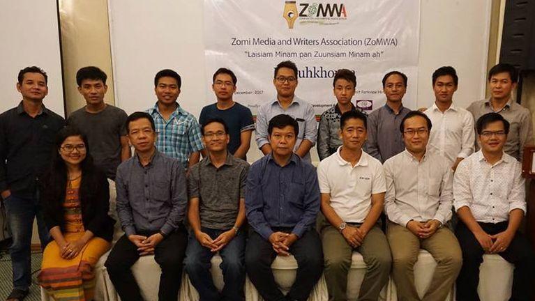 Zomi Media and Writers Association (ZoMWA) thu kikupna & makaithak te
